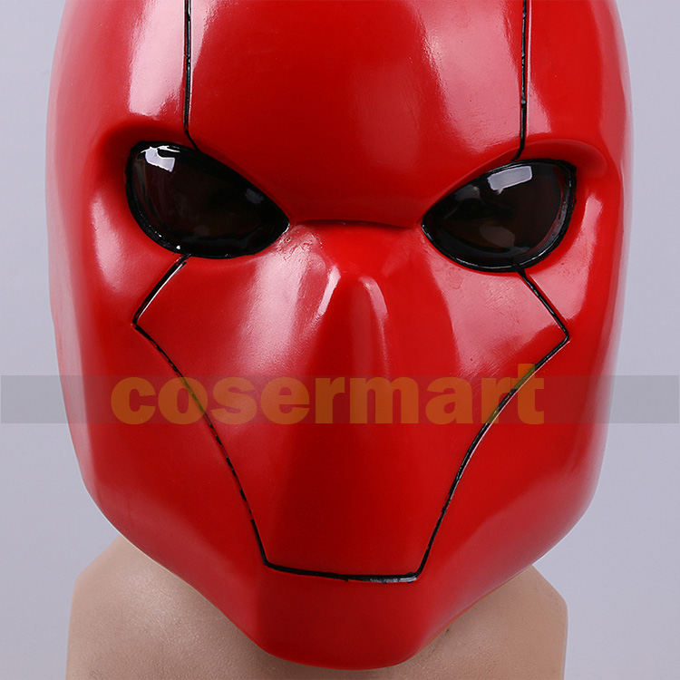 vermelho capacete homem cheio de cabeça pvc
