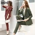 2017 primavera nueva moda temperamento OL pequeña chaqueta de traje de pantalones de traje de dos piezas traje women-dod265