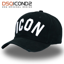 576b1dbd0c3 DSQICOND2 DSQ Solid Pattern Hats Letters ICON Baseball Cap Cap for Man Woman