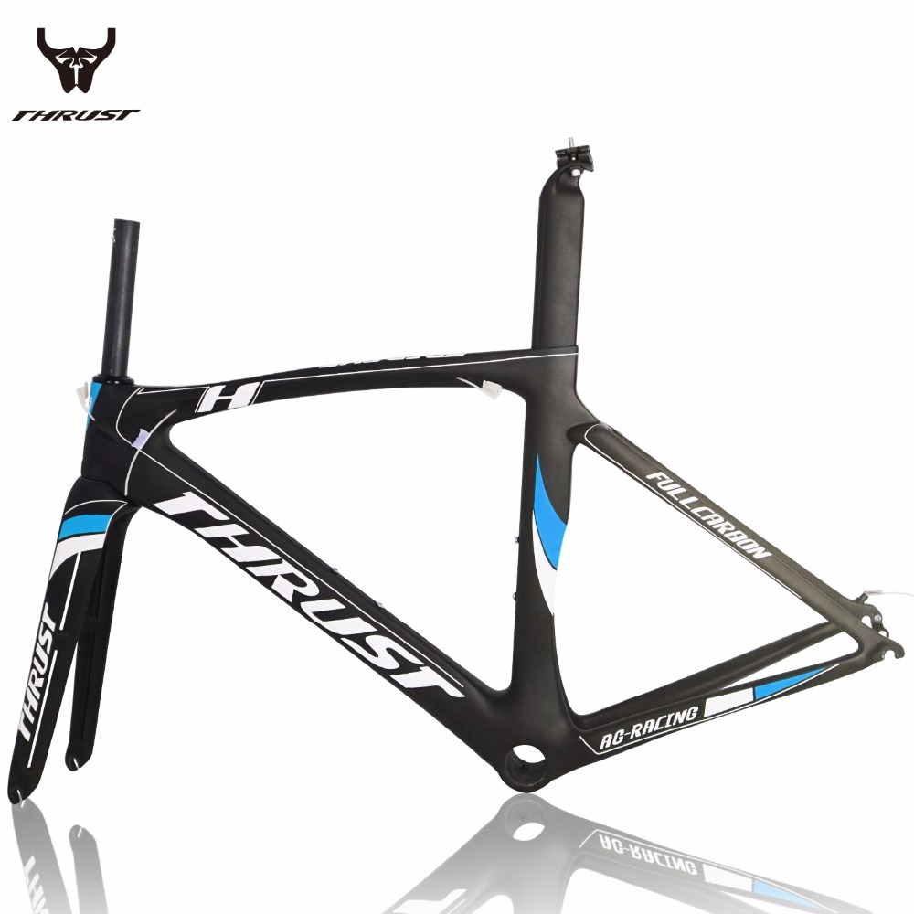 2017 Carbon Road Bicycle Bike Frame 49 52 54 56 58 130mm