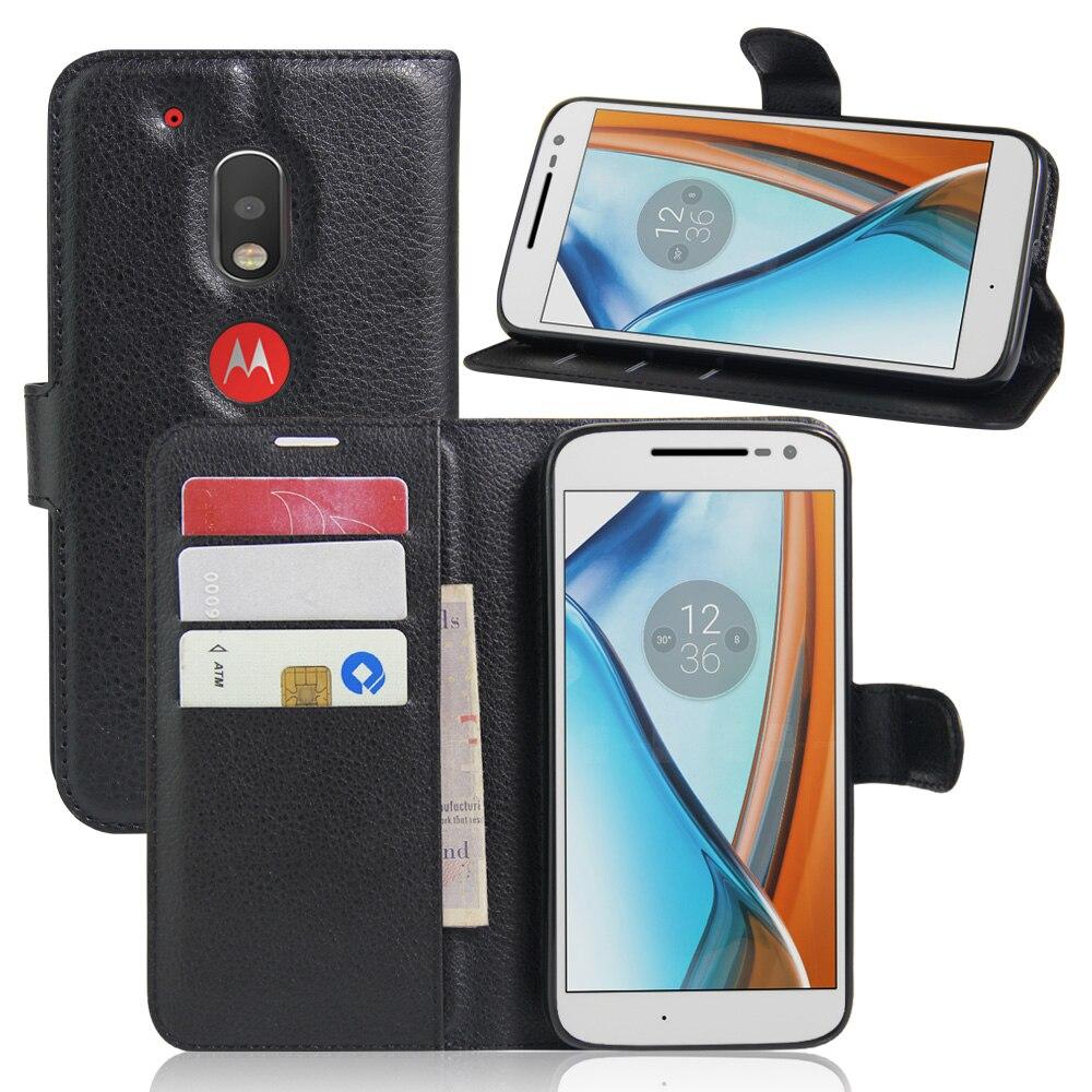Для Moto <font><b>G4</b></font> Play (5&#8242;) чехол модные роскошные Filp личи кожаный бумажник Стенд телефон Чехол сотовые телефоны для Moto <font><b>G4</b></font> Play