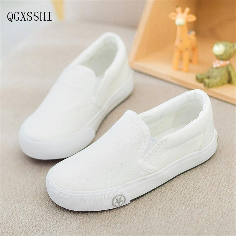 ᗚQgxsshi 2017 niños del resorte zapatos de lona transpirable para ...