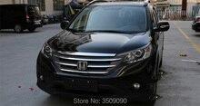 For Honda CRV CR-V 2012-2016 Chrome Front Hood Trim Cover Bonnet Grill Lip Molding Bar Garnish Mesh Car Styling