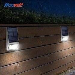HOOREE лампа на солнечной батарее Светодиодная лампа на солнечной энергии уличные садовые на солнечных батареях свет украшения движения PIR Се...
