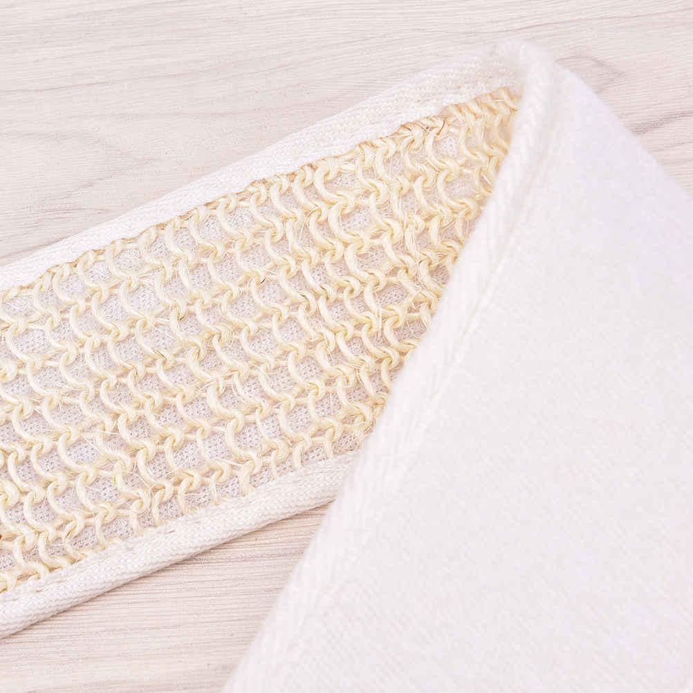 1 pc Unisex Weiche Peeling Luffa Dusche Bad Zurück Pinsel Strap Massage Spa Wäscher Schwamm Körper Pinsel Haut Gesundheit Reinigung