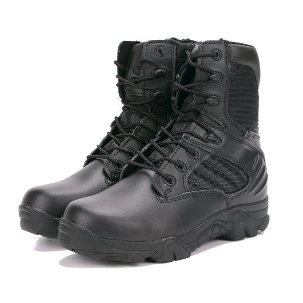 Hunting Hiking Shoes For Mountain,Shoes For Camping,Climbing Leather Breathable Outdoor Sports Tactical Men Boots