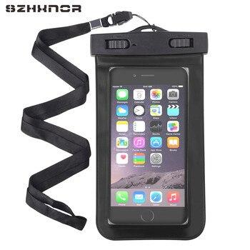 waterproof bag case transparent pouch beach dry universal mobile phone case for Samsung s8 s7 iphone 4 5 6 7 xiaomi 4x 3c lg g6 pochette étanche pour téléphone