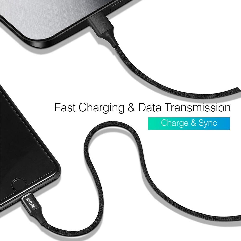 Купить с кэшбэком VOXLINK Magnetic Cable Micro usb Type C Fast Charging Adapter Phone Microusb Type-C Magnet Charger usb c For iphone Samsung