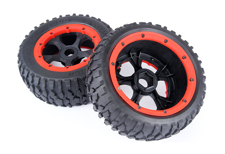 New style five-spoke gravel tyre assembly  Metal core 97023 XL LOSI