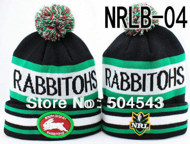 9cb5da7c455 New Arrival Style National Rugby League Teams Beanie Hat Australia NRL  Winter Football Cap POM POM Hats Free Shipping-in Skullies   Beanies from  Apparel ...