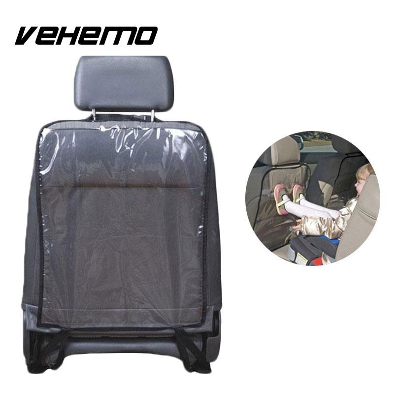 vehemo car auto seat back protector cover backseat for children babies kick mat protects from. Black Bedroom Furniture Sets. Home Design Ideas
