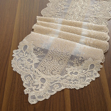 Korea Style Lace Dresser Dustproof Table Runner Home Decor Tea Cabinet Piano Table Runners 1pcs Quality Retro Table Runners
