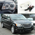 Para chrysler voyager grand voyager 2008-2014 excelente ultrabright ccfl kit angel eyes kit anel de halo angel eyes iluminação
