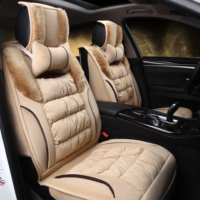 Luxury Car Seat Covers Universal Winter Cover Fit Most Styling For Honda Crv Toyota Nissan Mazda Previous Next