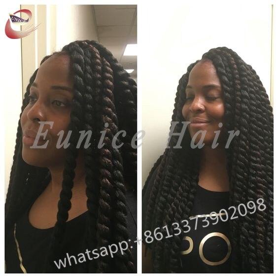 Cheap Twist Fake Hair Bundles African Hair Braiding Curly Crochet