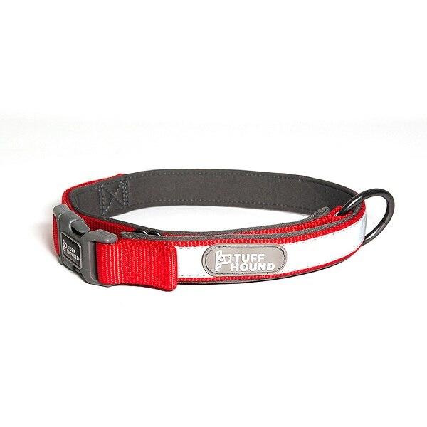 Светоотражающий нейлоновый Собачий Ошейник Домашние животные и поводок набор ошейник для котят и щенков шнур для поводка для маленьких средних больших собак аксессуары - Цвет: Red collar