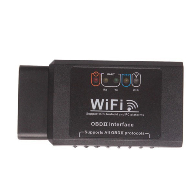 2017 Top Rated ELM327 Wifi Elm 327 Wifi Support OBD II obd2 Protocols+100% 1 Year Warranty Free Shipping