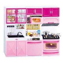 Маленький кухонный набор детей ролевые игры Набор инструментов для приготовления пищи пластиковая кухонная утварь котелок кастрюля аксессуары кухонные игрушки кукла-головоломка
