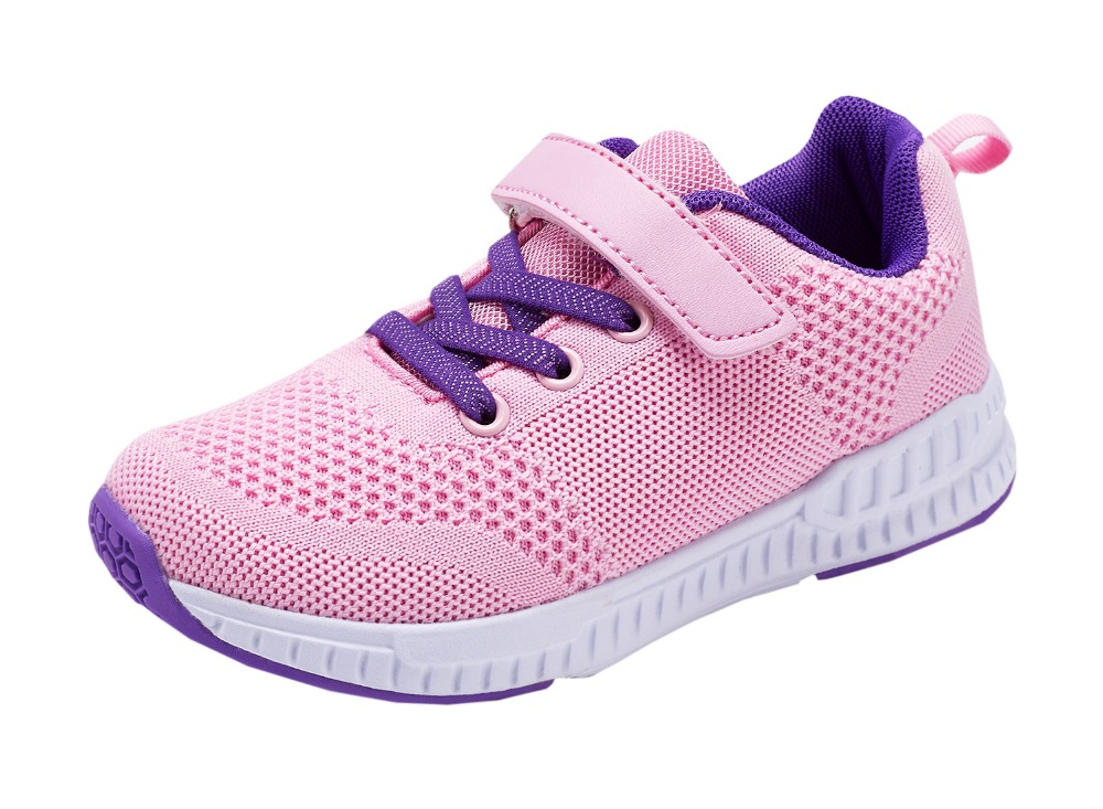 2ff9aa62b 2018 Hot Sale Girls Mesh Breathable Sneakers Boys Sport Shoes Little Kid  Big Kids Students Childrens Shoes Pink Color