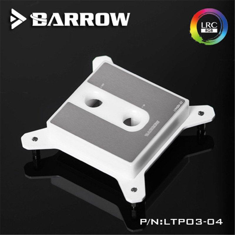 Barrow For Intel CPU water head POM Version For INTEL LGA-115X(1150 1151 1155 1156) alloyseed computer water cooling waterblock cpu radiator cooler for intel lga 1150 1151 1155 1156