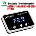Автомобильный электронный контроллер дроссельной заслонки гоночный ускоритель мощный усилитель для AUDI A4/S4 CABRIO 2003-2006 Тюнинг Запчасти аксес...
