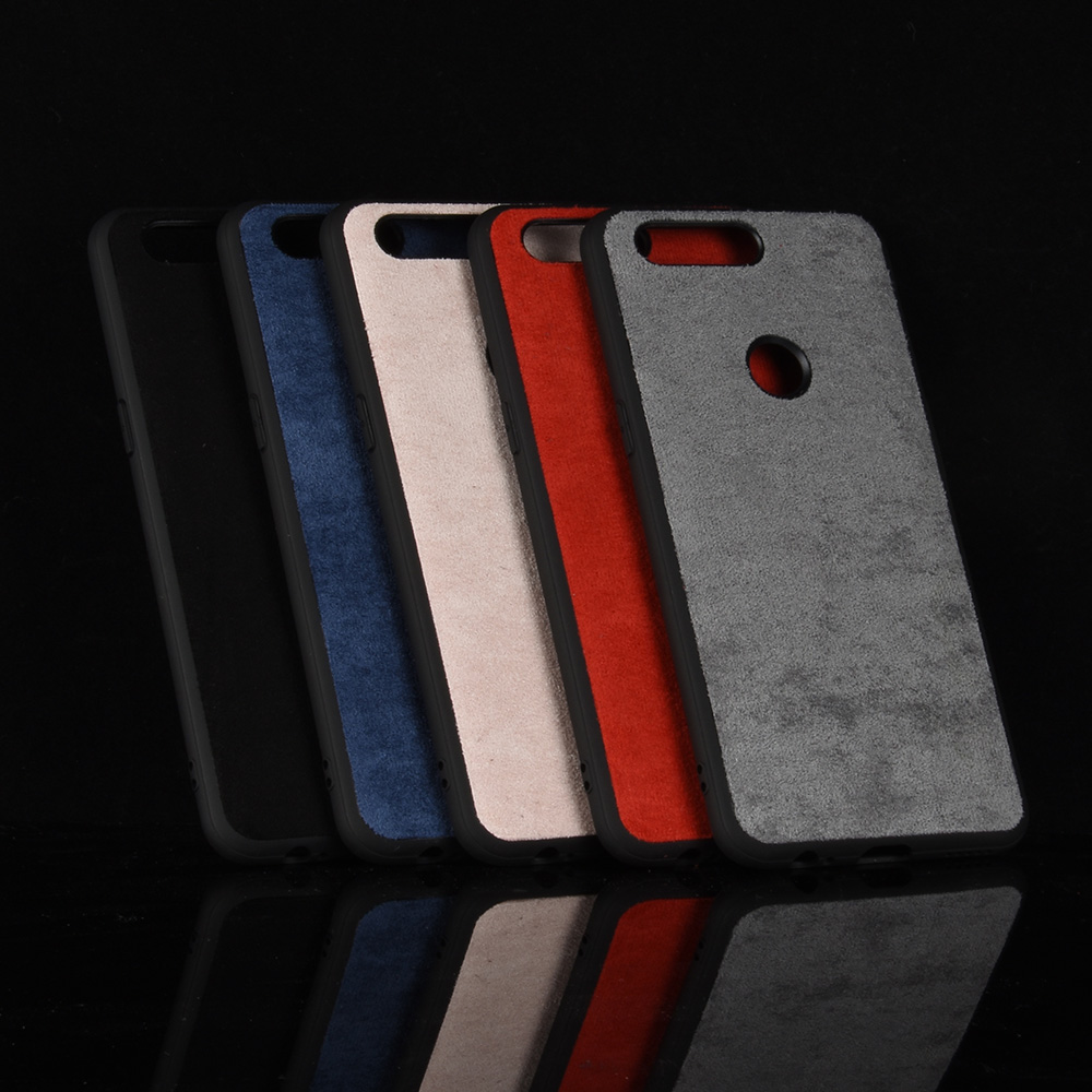 oneplus 5t Case OnePlus5T Silicone Edge Shockproof Genuine Plush Leather Phone Cover For OnePlus 5T one plus  5t Fitted Bag Case