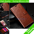 Vintage Wax Crazy Horse Flip Leather Wallet Case Holder Cover Stand Wallet Bag Card Holder For Sony Xperia XA F3111 F3112 F3113