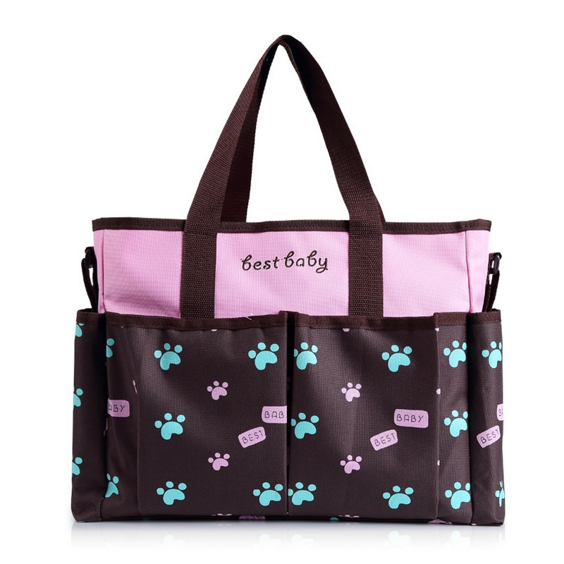 ФОТО Fashion Baby  handbag Maternal nappy bags Maternity Tote Shoulder Bags Travel Waterproof Diaper organizer  Mother Mom Baby care