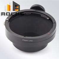 Pixco Mount Adapter Suit For Pentax 67 Lens To Pentax PK K 3 K 50 K