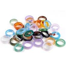 20 шт набор разноцветных колец из смолы для мужчин и женщин