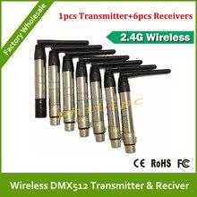 Dhl / EMS бесплатная доставка супер WDMX беспроводной DMX512 система беспроводной dmx DJ передатчик освещение комплект беспроводной контроллер