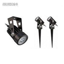 IP68 3W Led Garden Lawn Lamp Light 220V 110V 12V Outdoor LED Spike Path Landscape Waterproof Spot Bulbs