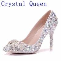 クリスタル女王ハイヒールの靴クリスタルブライ