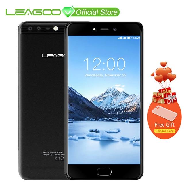 """LEAGOO T5c 4G LTE Смартфон Android 7,0 SC9853 Octa Core 5,5 """"FHD 3 GB Оперативная память 32 ГБ Встроенная память 13MP двойной назад камеры отпечатков пальцев мобильный телефон"""