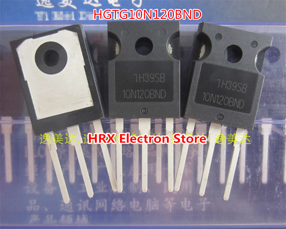 New Original Import HGTG10N120BND <font><b>10N120BND</b></font> IGBT 1200V 35A TO247 10PCS/LOT image
