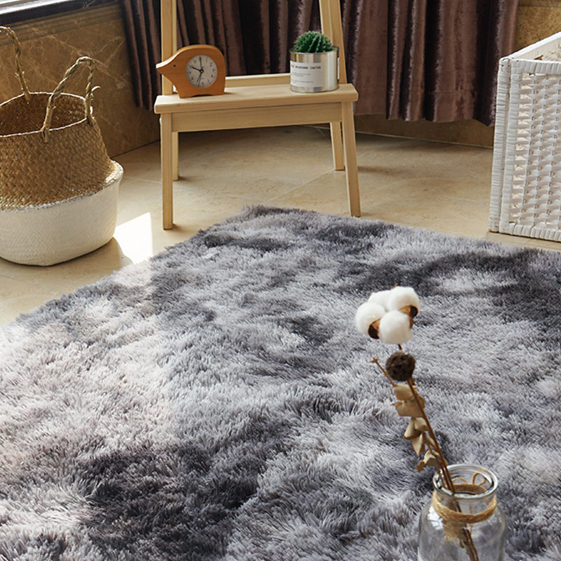1pcs Sofa Carpet Floor Area Rug Fluffy Rugs Anti Skid Multicolored Warm Shaggy Dining Room Home