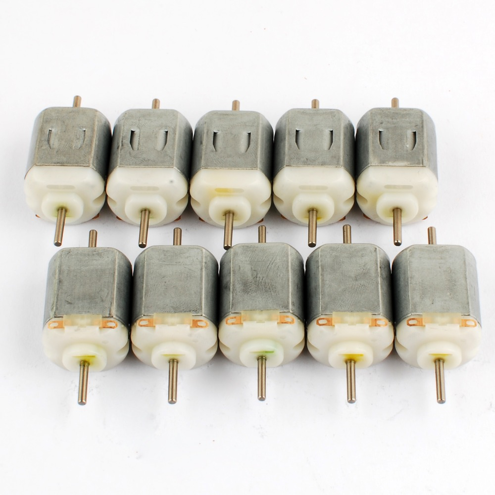 New wholesales 50pcs standard DC 3V 22000rpm toy motor 130 MOTOR With a varistor for toy Boat