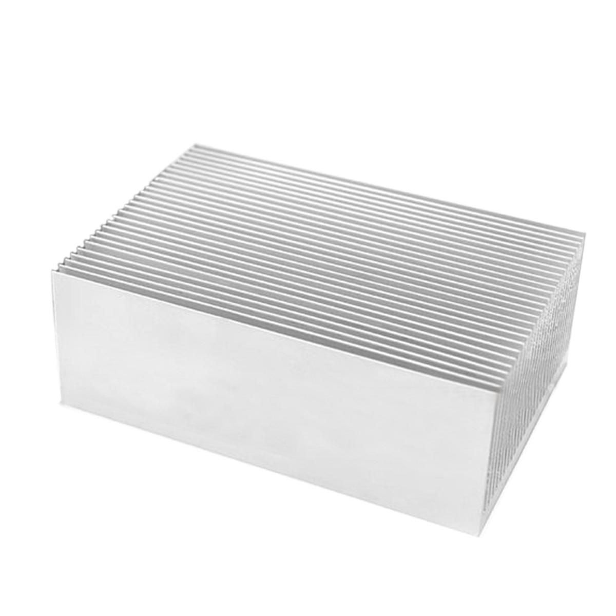 1pc Large Big DIY Aluminum Heatsink Cooler Mayitr Heat Sink Radiator for Led High Power Amplifier Transistor high quality pure copper heatsink 100x40x10mm skiving fin diy heat sink radiator for electronic chip led ic ram cooling cooler