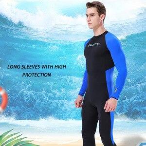 1PC Men Diving Suit Full Body Scuba Wetsuit Surf Swimming Long Sleeve Wetsuit Men Women Surfing Wet Suit Full Bodysuit Soft &w(China)