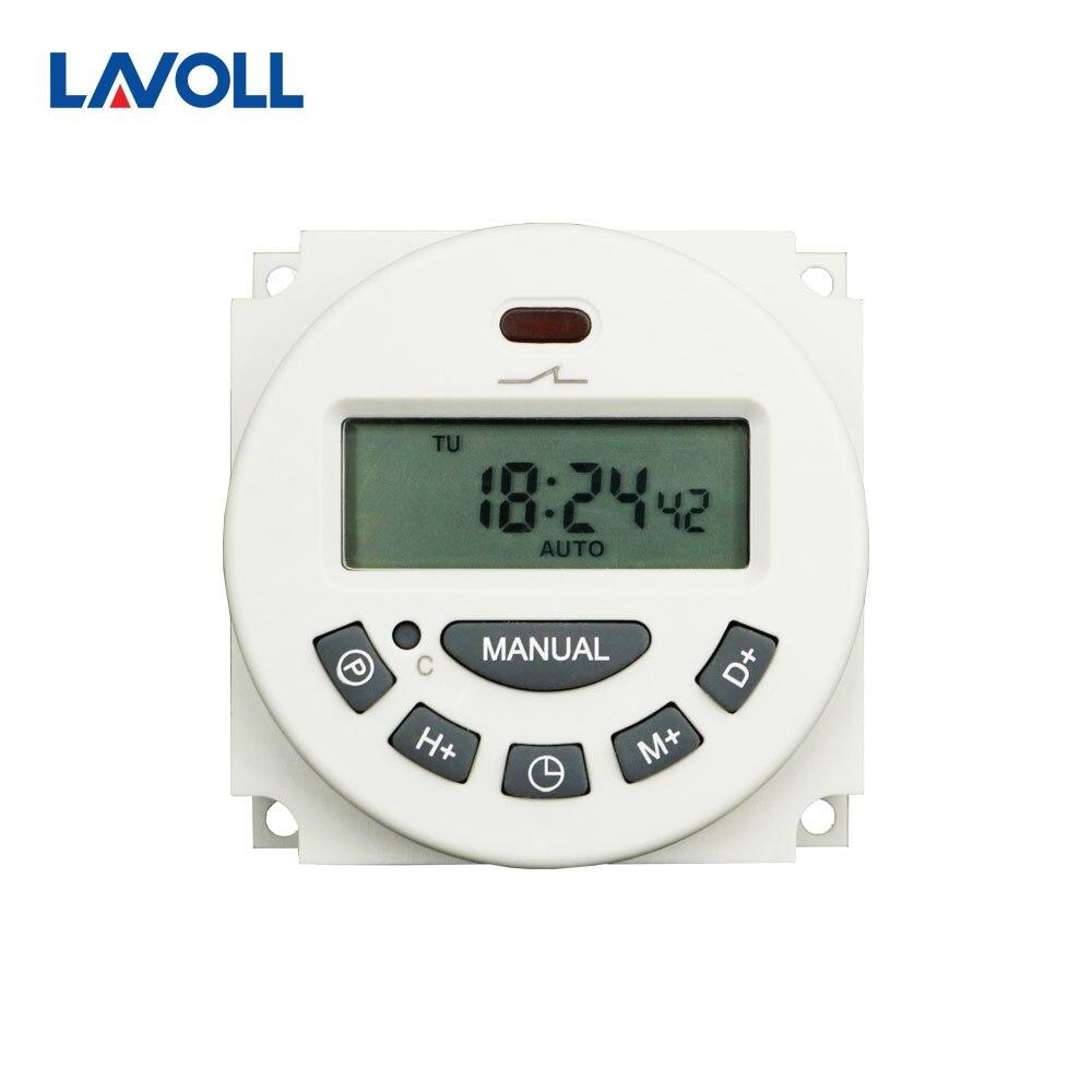 54c4a707001 Trilho din timer temporizador minuto Digital LCD Poder Programável  Temporizador Interruptor de Tempo Relé rele temporizador em Relés de  Melhoramento Da casa ...