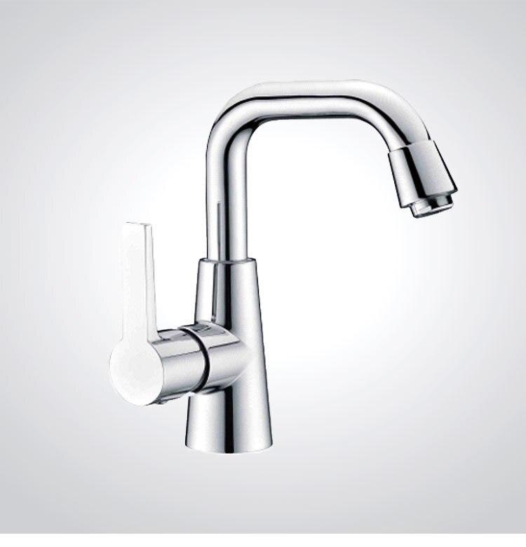 European High Quality Folding Kitchen Faucet Household: DONA Sanitary Ware Single Handle European Basin Faucet