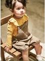 2016 Осень Девушка Оборками Футболки Милая Девушка Одежда Принцесса Ребенка Малыша Девушка Одежды