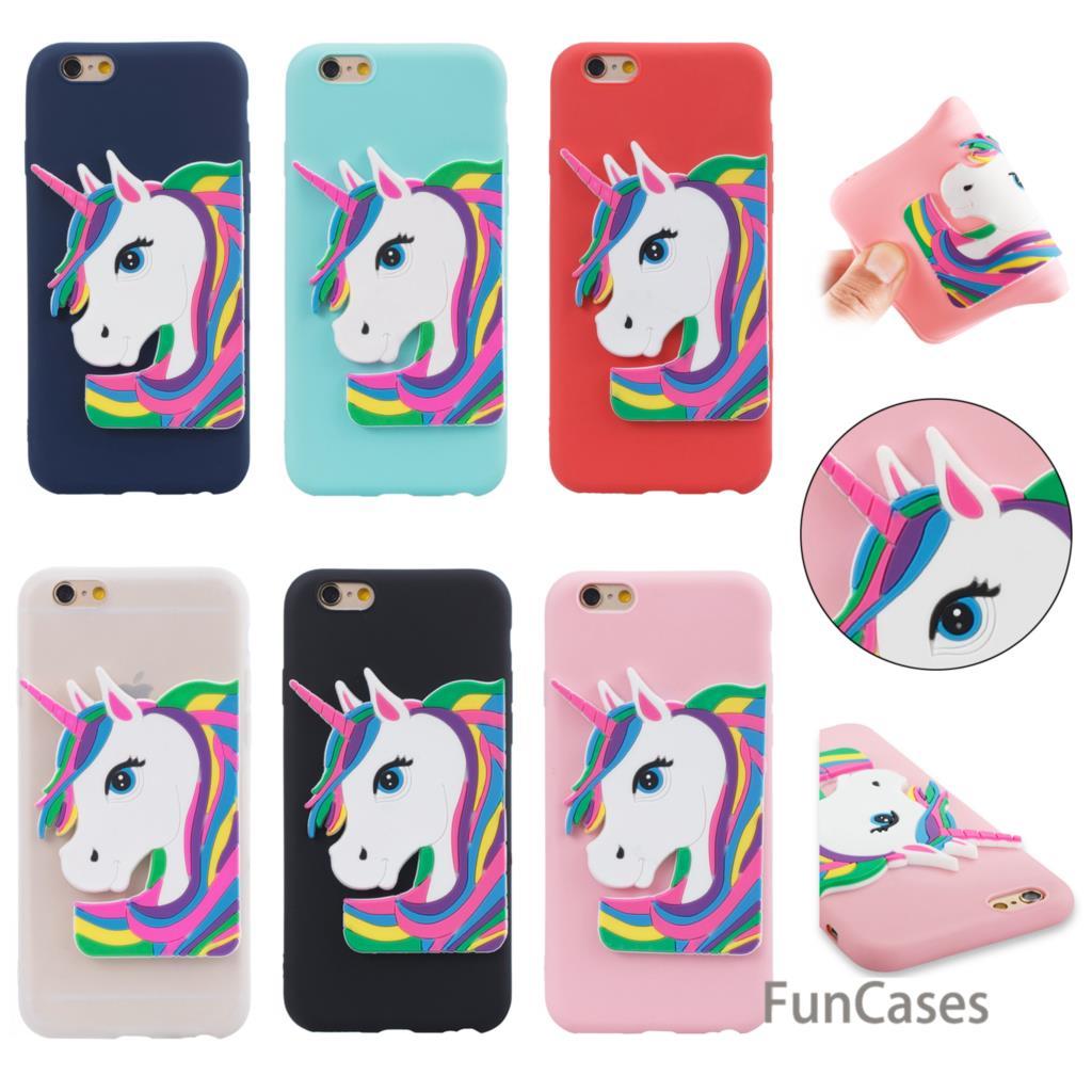 Candy Case sFor Coque iPhone 6 Plus Soft Silicone Phone Case Cell Animal Back Case sFor iPhone 6S Plus Pho Ne Funda Phone Cases ...