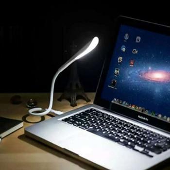 Led Night Light Mini USB White Light reading Lamp light Flexible for Notebook Laptop Computer Tablet Desktop PC Keyboard