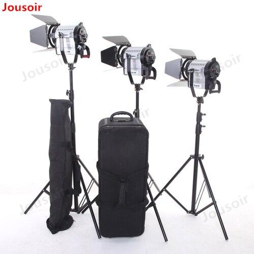 1500 w 필름 및 텔레비전 led 자리 사진 조명 듀얼 컬러 열 채우기 빛 3 빛 세트 cd50