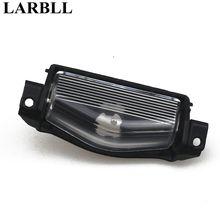 LARBLL Nuovo Targa Luce Della Lampada Della Copertura di Shell Per Mazda 2 3 M2 M3 2011-2013