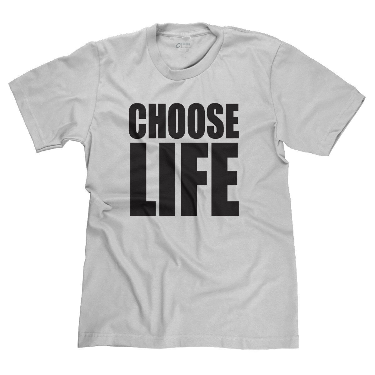 CHOOSE LIFE WHAM WAKE ME UP BEFORE YOU GO-GO 80s MUSIC VIDEO PARODY T-SHIRT TEE Fashion Style Men Tee,100% Cotton Classic tee image