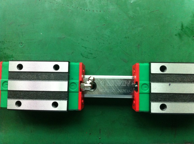 2pcs 100% original Hiwin linear guide HGR15 -L500mm+4pcs HGH15CA narrow blocks for cnc 2pcs hgr15 l1200mm 100