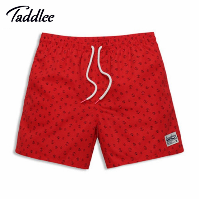 Taddlee Brand Men Casual Beach Boardshorts Quick Drying Boxers Man Loose Active Trunks Men's Jogger Bermuda Swimwear Swimsuits