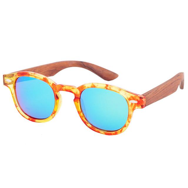 Original Round Bamboo Sunglasses